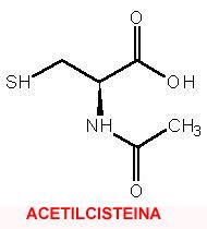 Risultati immagini per N acetilcisteina