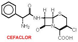 formula del cefaclor
